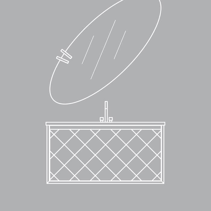 Colectia Akri. Linii unice într-o piesă de mobilier echilibrată și funcțională.